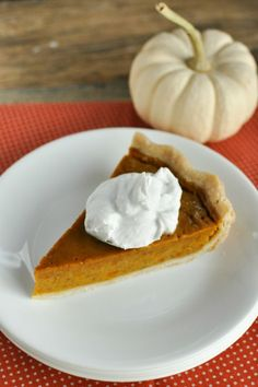 Maple Pumpkin Pie - This recipe is gluten- and dairy-free, making it the perfect pick for parties where you know diet restrictions will be a thing. Get the recipe and more Thanksgiving dessert ideas at redbookmag.com