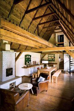 Viscri interior design, Transilvania, Romania