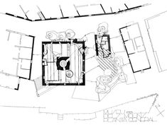 Rehabilitation of a XVIIC flourmill as the Museum of the Mills of the Balearic Islands, with the conditioning of the surrounding public spaces, Palma de Mallorca. Architecture Plan, Contemporary Architecture, Museum Plan, Balearic Islands, Detailed Image, Diagram, How To Plan, Gallery, Drawings