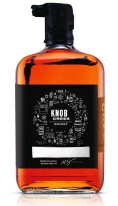 12 Gifts for Cocktail Lovers: Knob Creek Bourbon Holiday Label