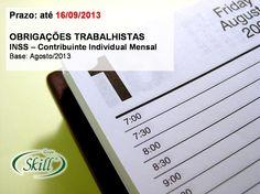 OBRIGAÇÕES TRABALHISTAS – prazo até 16/09 | Blog Skill
