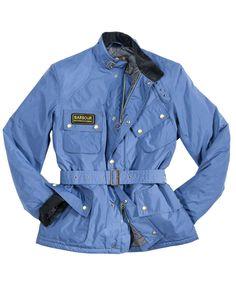 Cheap Mens Barbour Lightening Waterproof Jacket Atlantic Blue