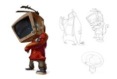 Sick character designs by tipa_graphic , via Behance