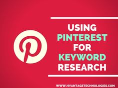 Using #Pinterest For Keyword Research #digitalmarketing #smo #seo