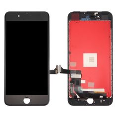 [$44.14] iPartsBuy 3 in 1 for iPhone 7 Plus (LCD (AUO) + Frame + Touch Pad) Digitizer Assembly(Black)