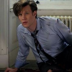 """Doctor Who """" The Eleventh Hour"""" (5x01) - The Doctor #MattSmith"""