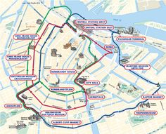 24 hr hop on hop off canal boat amsterdam