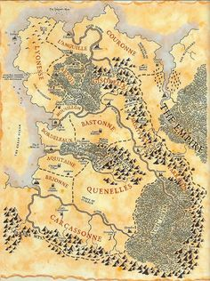 The Kingdom of Bretonnia from the Warhammer universe