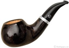 Rattray's Butcher's Boy Grey Bent Apple (23) (9mm) Pipes at Smoking Pipes .com