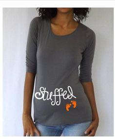 """""""A Pumpkin Bump"""" Maternity Halloween T-Shirt"""