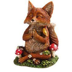 Evergreen Enterprises, Inc Zen Fox Statue