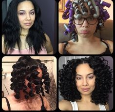 Check out this Flexi Rod video tutorial for relaxed hair and for those transitioning to natural hair. Flexi rods on natural hair makes a protective style, flexi rods on Relaxed Hair. Natural Hair Inspiration, Natural Hair Tips, Natural Curls, Natural Hair Styles, Style Inspiration, Permed Hairstyles, Cool Hairstyles, Relaxed Hairstyles, Bob Hairstyle
