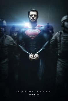 Exclusive Poster: Man of Steel