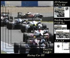 Sport   Racing Cars 3   Pyrimage Pyramid   Insert   Tag on Craftsuprint - View Now!