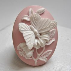 Butterfly Cameo Ring! LOVE IT!  #mimiboutique #accessories