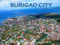 Surigao City in the Philippines