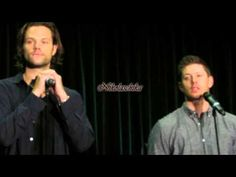 2015 supernatural VanCon J2 Gold Panel- 11:30 ish cutest story about their caravaning road trip :)