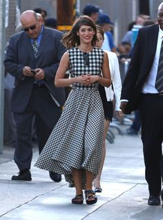 Lizzy Caplan Makes a Case for Those Sandals