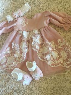 Baby Dress Set Pink Baby Dress Baby Lace Dress Infant