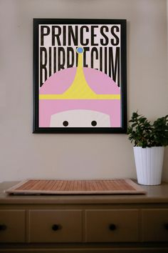 Hey, I found this really awesome Etsy listing at http://www.etsy.com/listing/128548850/adventure-time-princess-bubblegum-poster