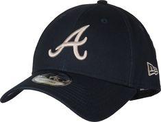 faf3e7d0d79b3 Atlanta Braves New Era 940 League Essential Navy Baseball Cap