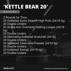 Kettlebell Snatch, Kettlebell Clean, Kettlebell Training, Kettlebell Swings, Hero Workouts, Crossfit Workouts At Home, Fit Board Workouts, Military Workout, Workouts