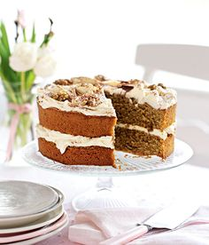 A decadent cake recipe strictly for the grown-ups – perfect for a lazy afternoon with friends and a large pot of tea.
