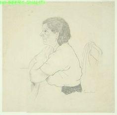 """LUCEBER """"portret (een vrouw·), 1948"""