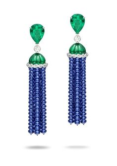Tassel earrings by Piaget