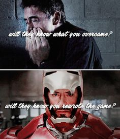 Will they know you rewrote the game? (Tony Stark/Iron Man)