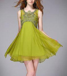 Sleeveless chiffon dress sexy dress evening dress by Lemontree2013, $99.90