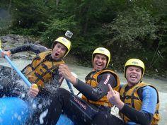 """""""guiders unterwegs"""": unsere #Rafting Tour auf der Imst"""