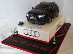 Audi Q7 car cake