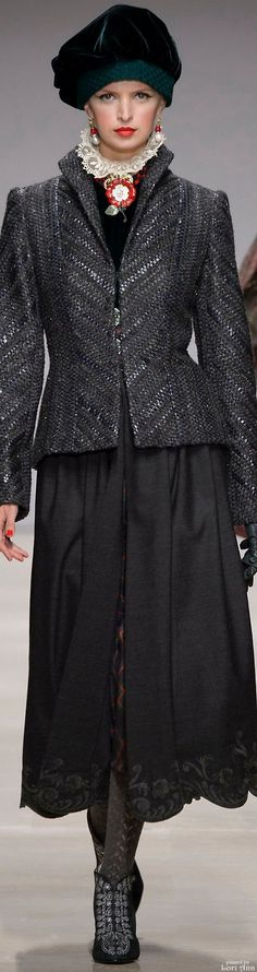Raffaella Curiel Couture Fall 2015