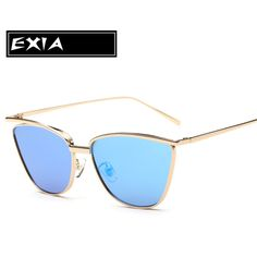 >> Click to Buy <<  Blue Sunglasses Cat Eye Frame for Women Fashion Leisure EXIA OPTICAL KD-0741 Series #Affiliate