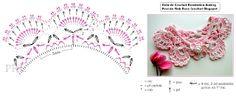 \ PINK ROSE CROCHET /: Gola Audrey - Crochet Collar