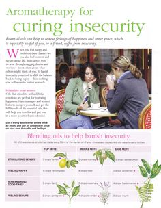 Young Living Essential Oils: Emotions Insecurity