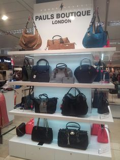 The latest Paul's Boutique collection has just landed in El Corte Ingles in Portugal. Featuring the new suede range in tan and teal alongside slouchy black and grey styles, this is a great intro to Spring 2015...