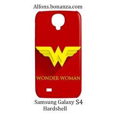 Wonder Woman Superhero Samsung Galaxy S4 S IV Hardshell Case