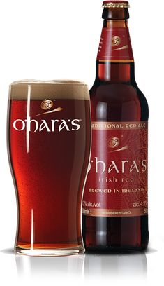 Ирландия 4,5/5 O'HARA'S Irish Red -4,3% - классический ирландский полутемный эль с мягким сливочным вкусом и приятным горько-кофейным послевкусием.