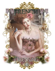 """""""~ French Dressing ~"""" by romantiquechic ❤ liked on Polyvore featuring art"""