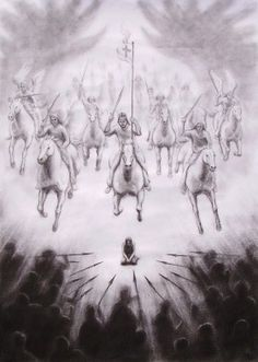 Spiritual warfare Art images: Intercessory Prayer, Worship