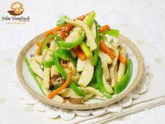 NẤM THẬP CẨM XÀO RAU CỦ (MÓN CHAY) Stir-fried mixed mushroom with vegetable
