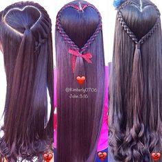 for the kids hair Kids Braided Hairstyles, Princess Hairstyles, Creative Hairstyles, Little Girl Hairstyles, Anna Hair, Ariel Hair, Baby Girl Hair, Toddler Hair, Tips Belleza