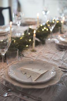 🌟Tante S!fr@ loves this📌🌟Stolujte v prírodnom štýle. Christmas Makes, Christmas 2019, All Things Christmas, Christmas Home, White Christmas, Christmas Holidays, Christmas Crafts, Xmas, Christmas Ideas