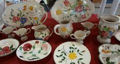 Collecting Blue Ridge Pottery dishes.  To learn more: http://hubpages.com/art/Blue-Ridge-Dishes