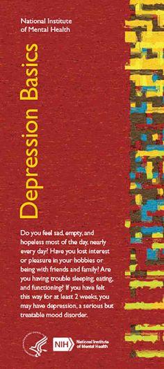 Depression Basics cover.