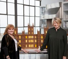 Martha Stewart Makes Gingerbread Version of Downton Abbey for 'Mrs. Patmore' | Health.com