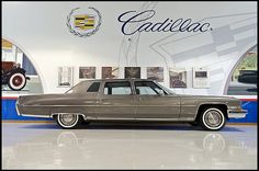 1973 Cadillac Fleetwood Series Seventy-Five Limousine