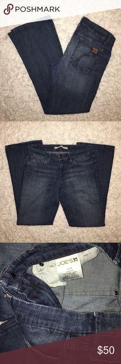 Joes Jeans Provocateur Bootcut Petite joe's denim jeans in a medium wash. Joe's Jeans Pants Boot Cut & Flare